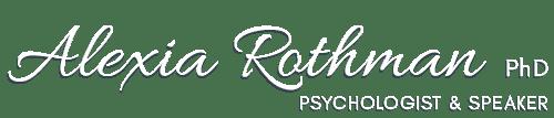 Alexia Rothman Ph.D. Logo